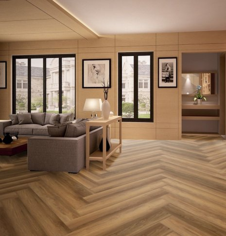 Panele laminowane Romance Oak Brilliant z kolekcji wineo 400 wood