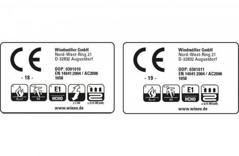 wineo Designboden CE-Prüfkennzeichen Auszeichnung Zertifizierung