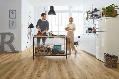 Stosując panele winylowe w kuchni masz zapewnienie wieloletniej eksploatacji