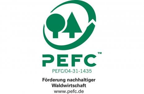 PEFC Zertifikat wineo Laminat Laminatboden