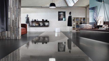 wineo Laminatboden Verlegekombination glänzend und matt