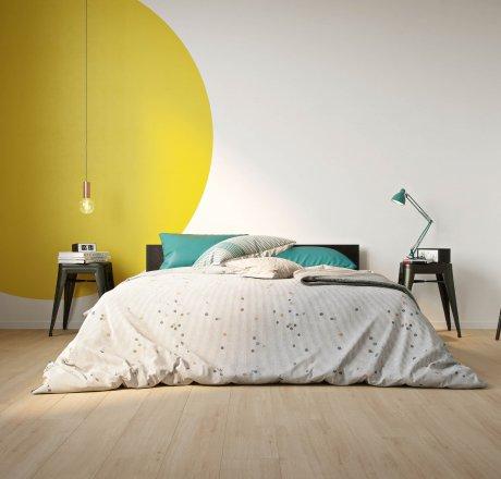 wineo 500 Laminatboden Schlafzimmer Wild Oak Beige LA185MV4