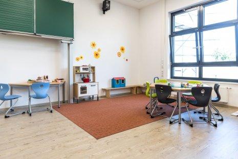 wineo PURLINE Bioboden Kita Schule Klassenzimmer