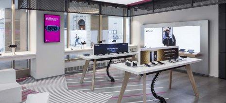 wineo Bodenbelag Referenz modern bunt Shop