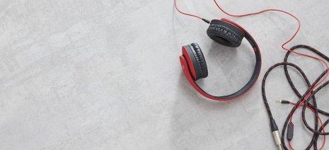 Purline Bioboden grau Kopfhörer