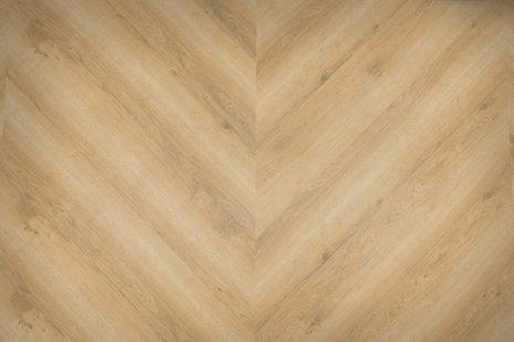 Podłoga Wheat Golden Oak w jodełkę francuską