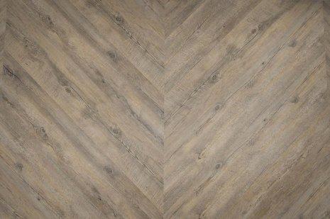 Podłoga Embrace Oak Grey w jodełkę francuską