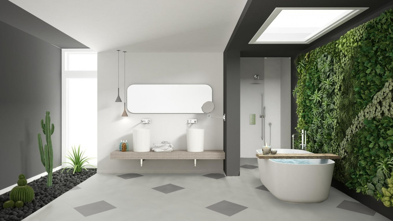 Panele w kształcie płytek do łazienki