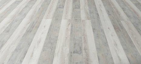 Jasna podłoga z paneli winylowych Copenhagen Frosted Pine oraz Moonlight Pine Pale